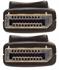 Bild von EXT-DP-CP-FM10 DisplayPort Fiber Optic Extender über 1 Glasfaser
