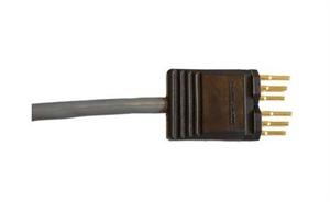 Bild von GSK 316/90 sw  Patchcord 6-Pole