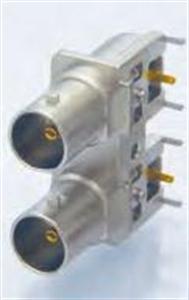 Bild von CANARE BCJ-BPLH2PA 75 Ohm BNC Buchse dual printbar