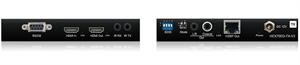 Bild von HEX70ED-V2 HDBaseT Extenderset bis 70m, IR, RS-232, PoH, HDCP 2.2