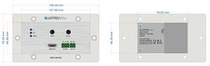Bild von HEX11WP-RX HDBaseT Wall Plate-Empfänger